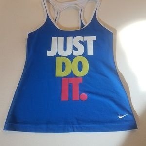 Nike Just Do It Tank size small
